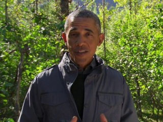 Running Wild With Bear Grylls: President Obama
