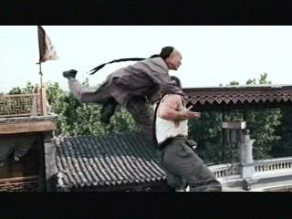 Jet Lis Fearless Scene A High Platform Fight