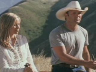 Scene Cowboy Mountain