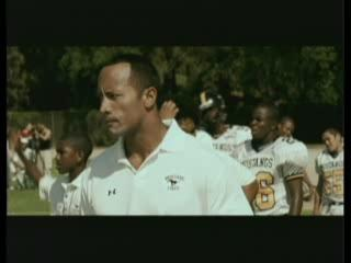 Gridiron Gang Scene No Quitting