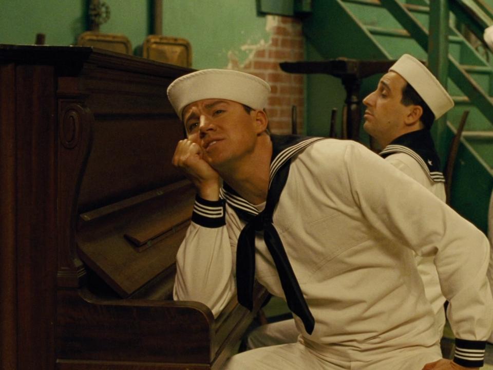 Hail, Caesar!: Burt Gurney Performs 'No Dames' On Set