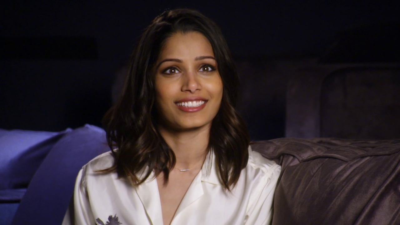 Knight Of Cups: Freida Pinto On Working With Christian Bale