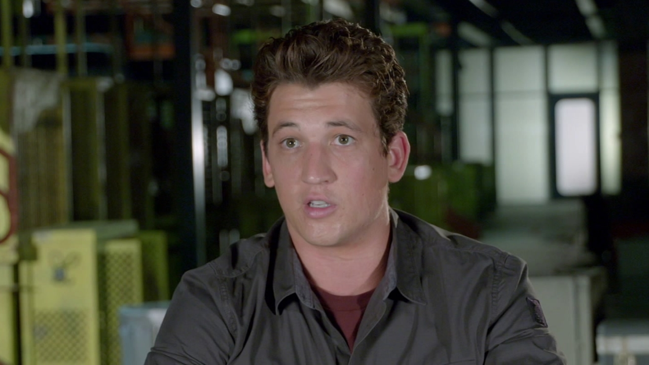 The Divergent Series: Allegiant: Miles Teller On Scaling The Wall
