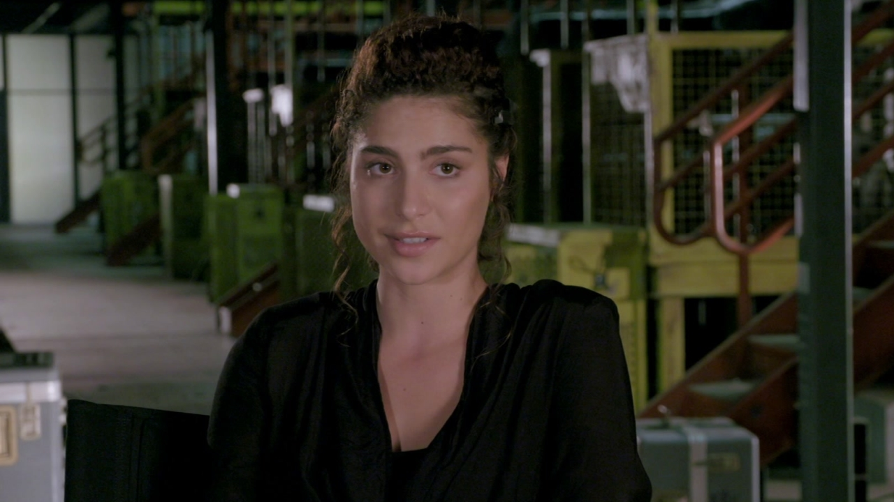 The Divergent Series: Allegiant: Nadia Hilker On The Scale Of Production