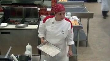 Hell's Kitchen: Flo Rida Eats At Hell's Kitchen