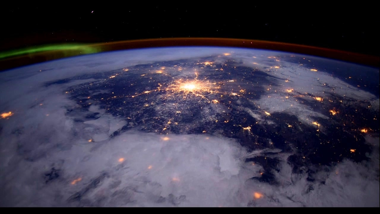 A Beautiful Planet: At Night