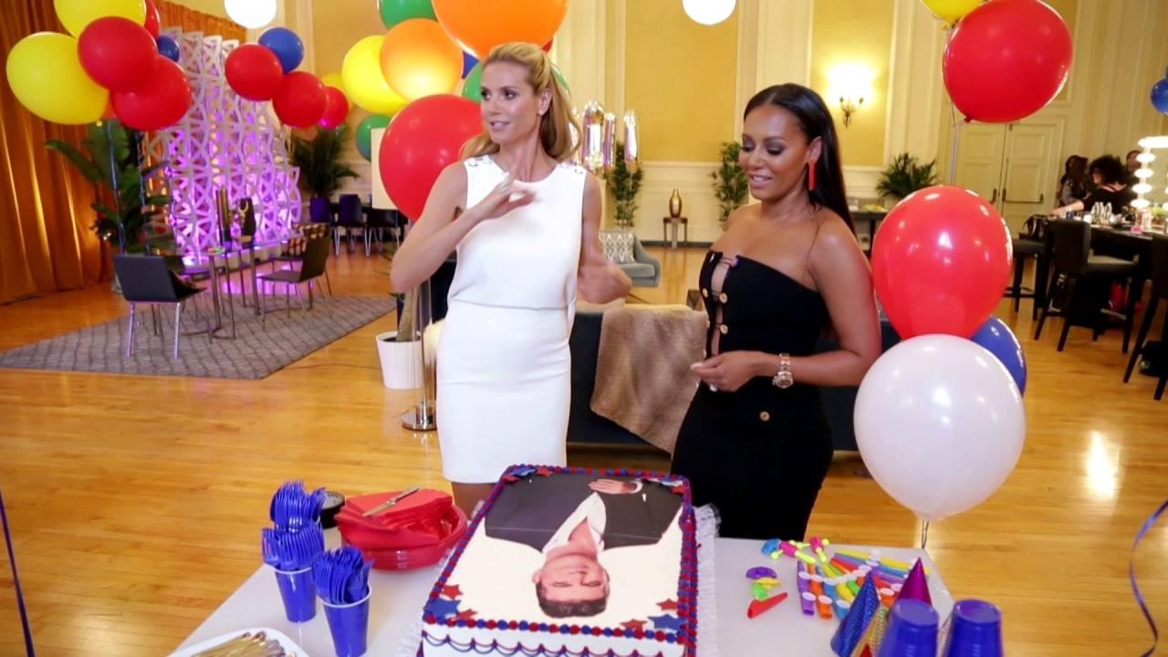 America's Got Talent: Heidi & Mel Lick Cake