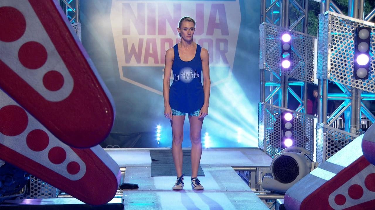 American Ninja Warrior: Allison Toepperwein Run