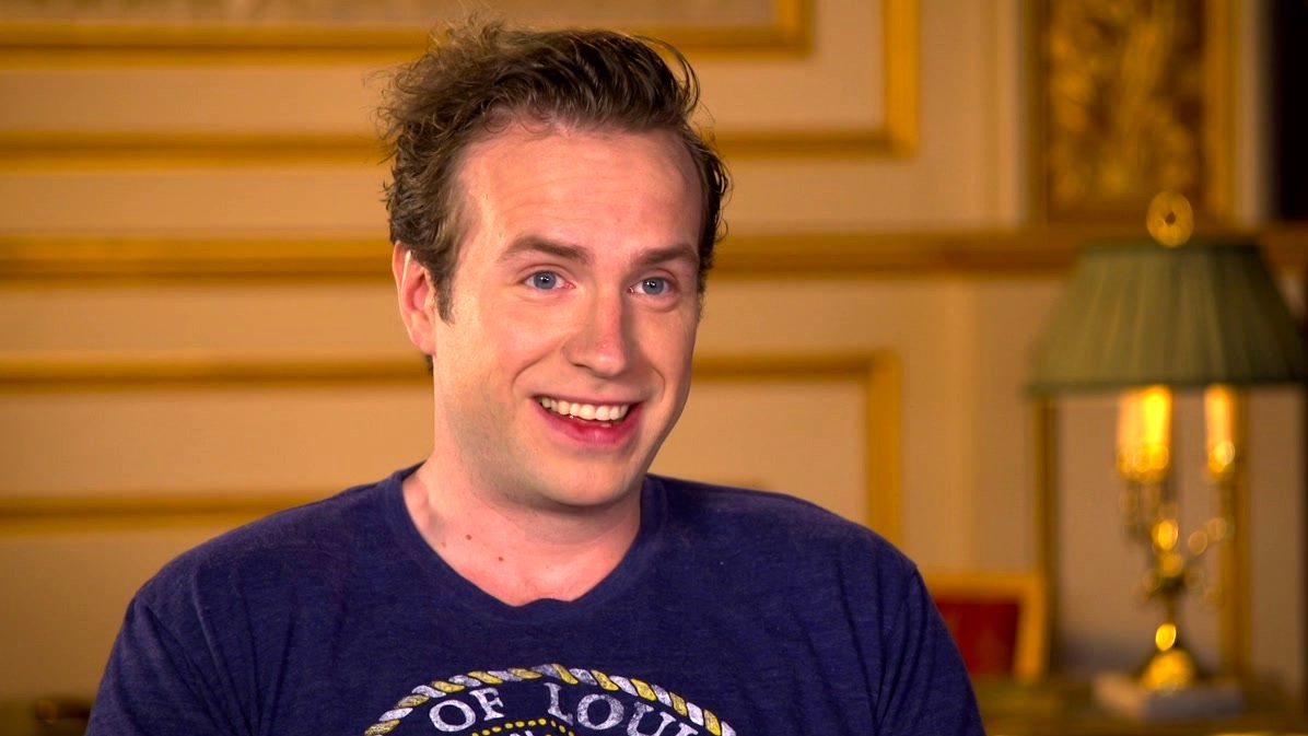 The BFG: Rafe Spall On Shooting And The Crew