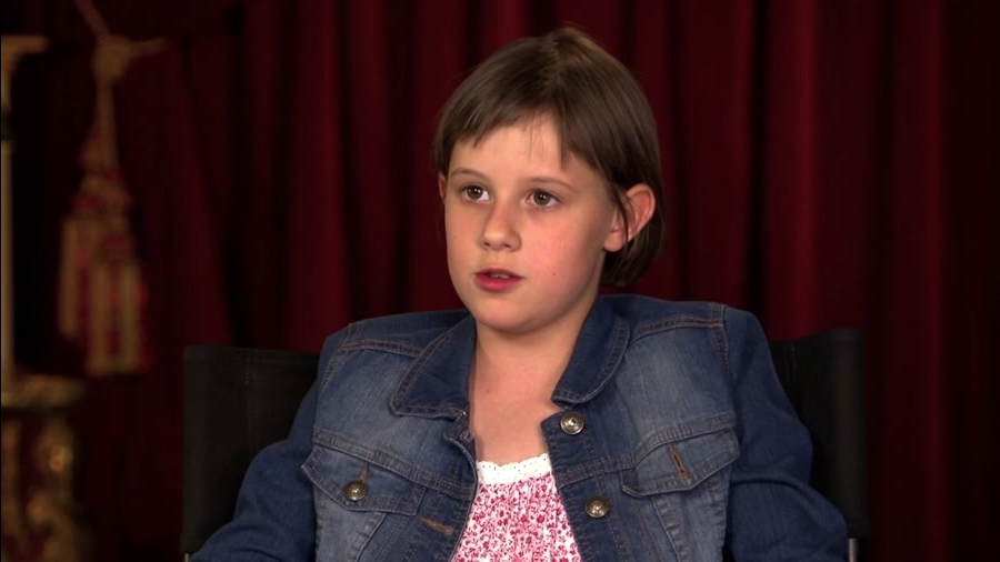 The BFG: Ruby Barnhill On 'Sophie' Getting To Know BFG