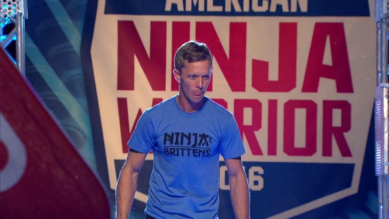 American Ninja Warrior: Geoff Britten Run