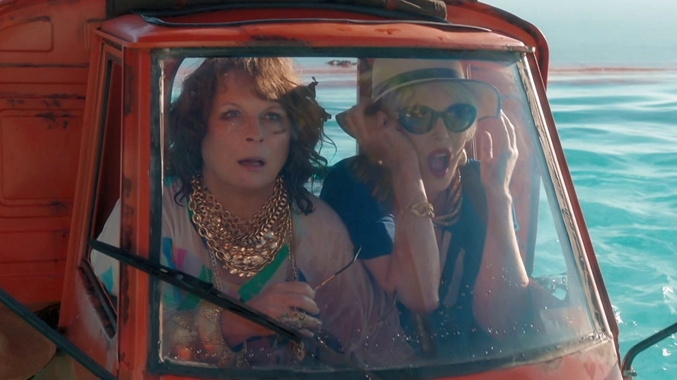 Absolutely Fabulous: The Movie: Tiny Car Chase (US)
