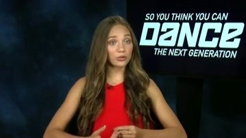 So You Think You Can Dance: Maddie Zigler Is Comfortable Giving Criticism