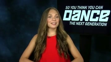So You Think You Can Dance: Maddie Zigler Is Excited To Be A Fresh Voice At The Judges Table