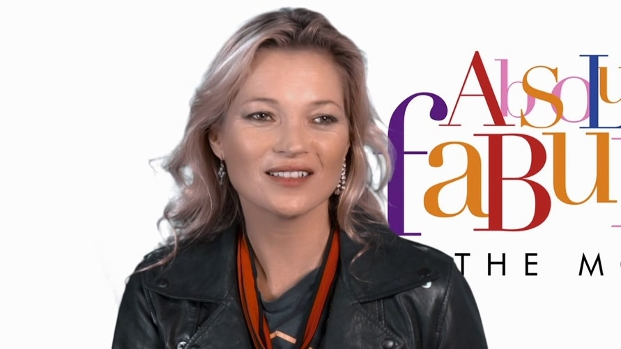 Absolutely Fabulous: The Movie: Kate Moss On How Ab Fab Represents The Fashion World (US)