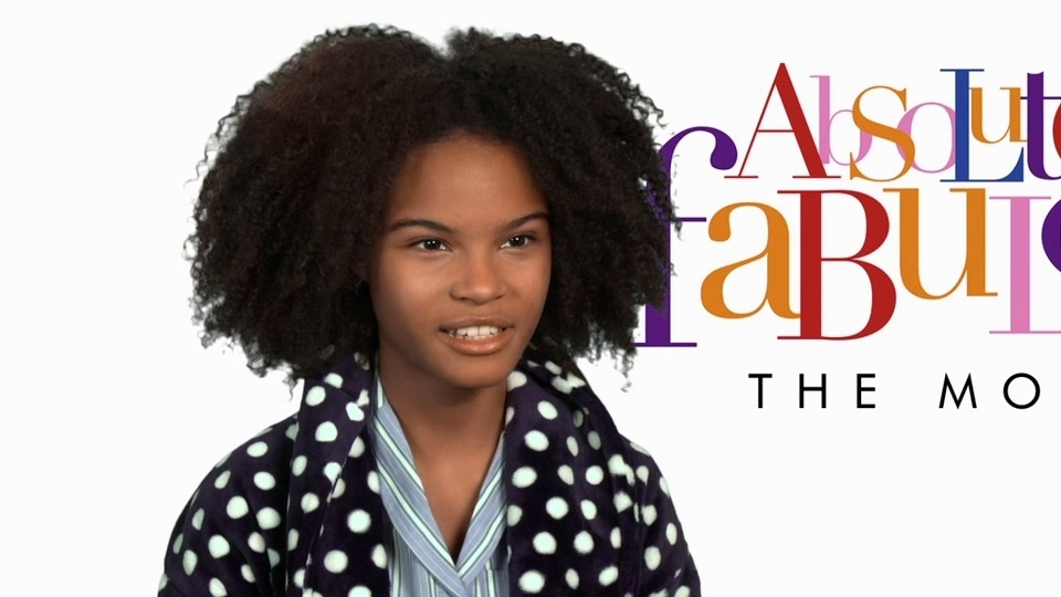 Absolutely Fabulous: The Movie: Indeyarna Donaldson-Holness On Her Character (US)