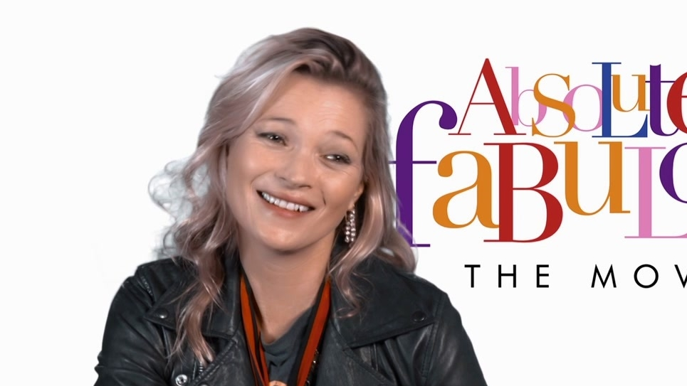 Absolutely Fabulous: The Movie: Kate Moss On Why Is Ab Fab Special (US)