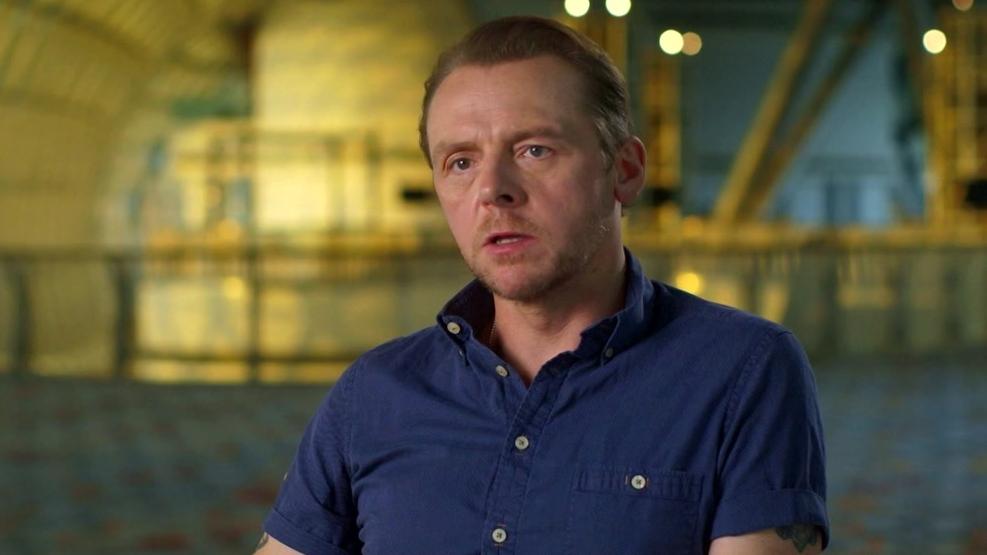 Star Trek Beyond: Simon Pegg (Part 2)