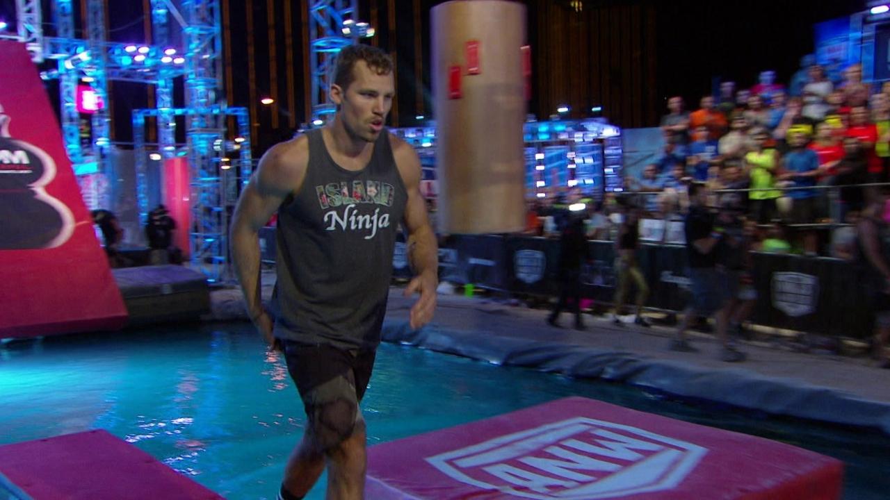 American Ninja Warrior: Grant Mccartney Run