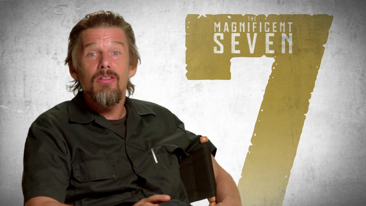 The Magnificent Seven: Ethan Hawke On What Makes This Film Fresh