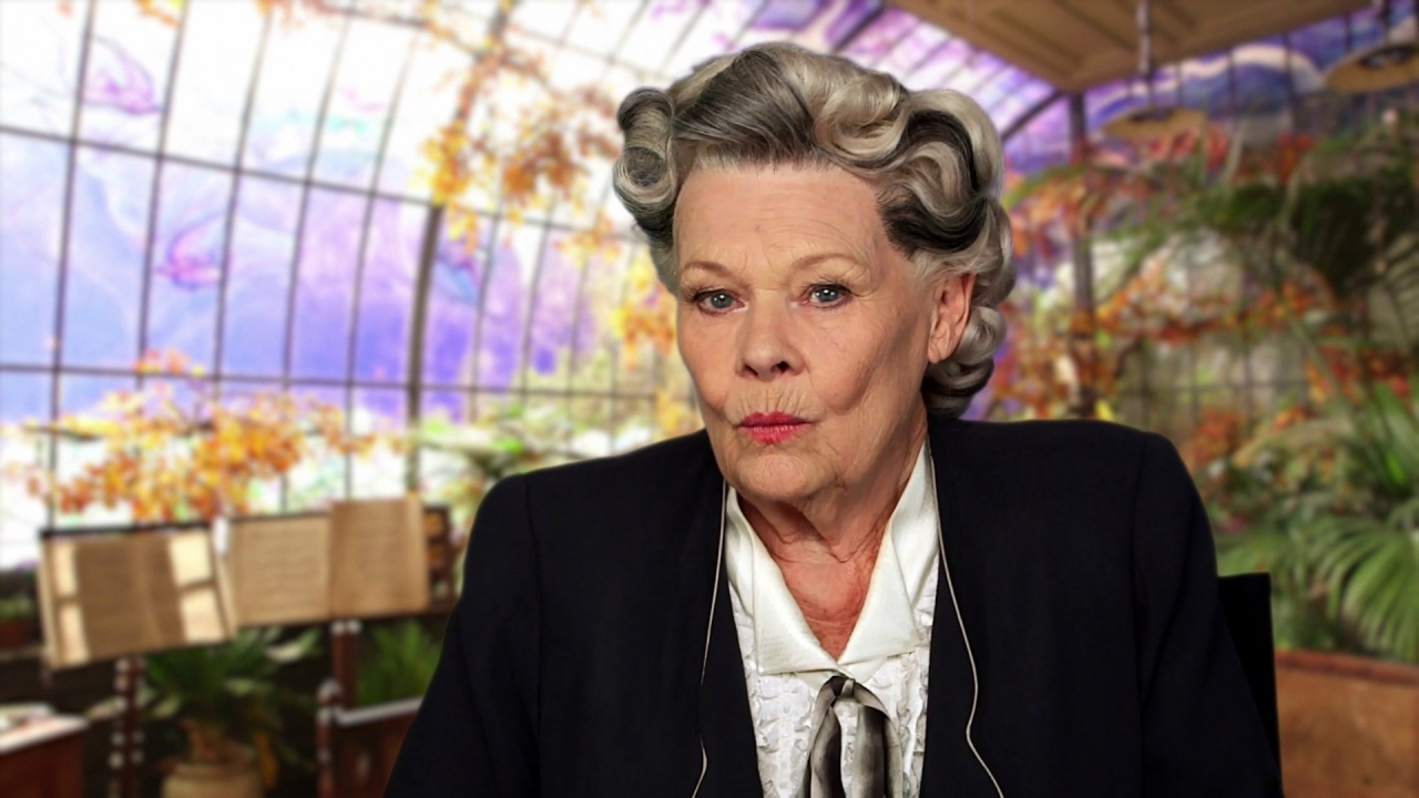 Miss Peregrine's Home For Peculiar Children: Judi Dench On What Excited Her About The Project