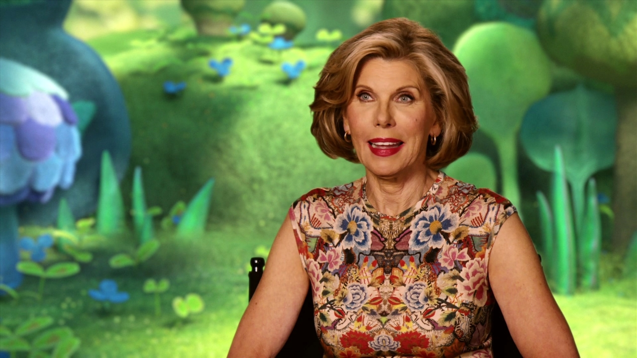 Trolls: Christine Baranski On What Excited Her About The Film