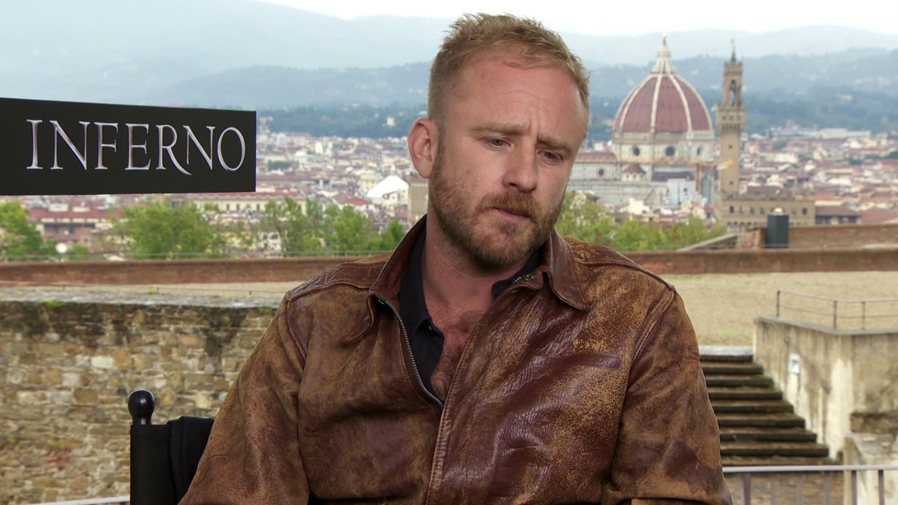 Inferno: Ben Foster On His Character
