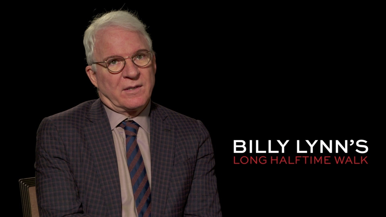 Billy Lynn's Long Halftime Walk: Steve Martin On What Inspired Him To Get Involved