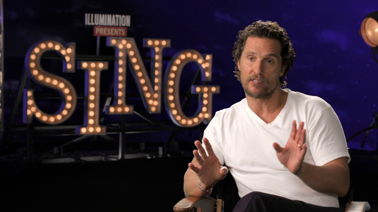 Sing: Matthew McConaughey On How He Would Describe The Film