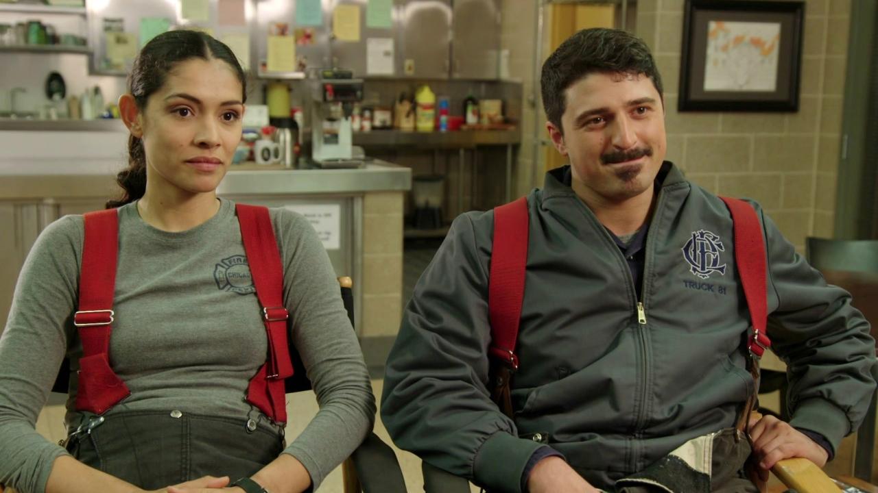 Chicago Fire: Yuri Sardarov & Miranda Rae Mayo