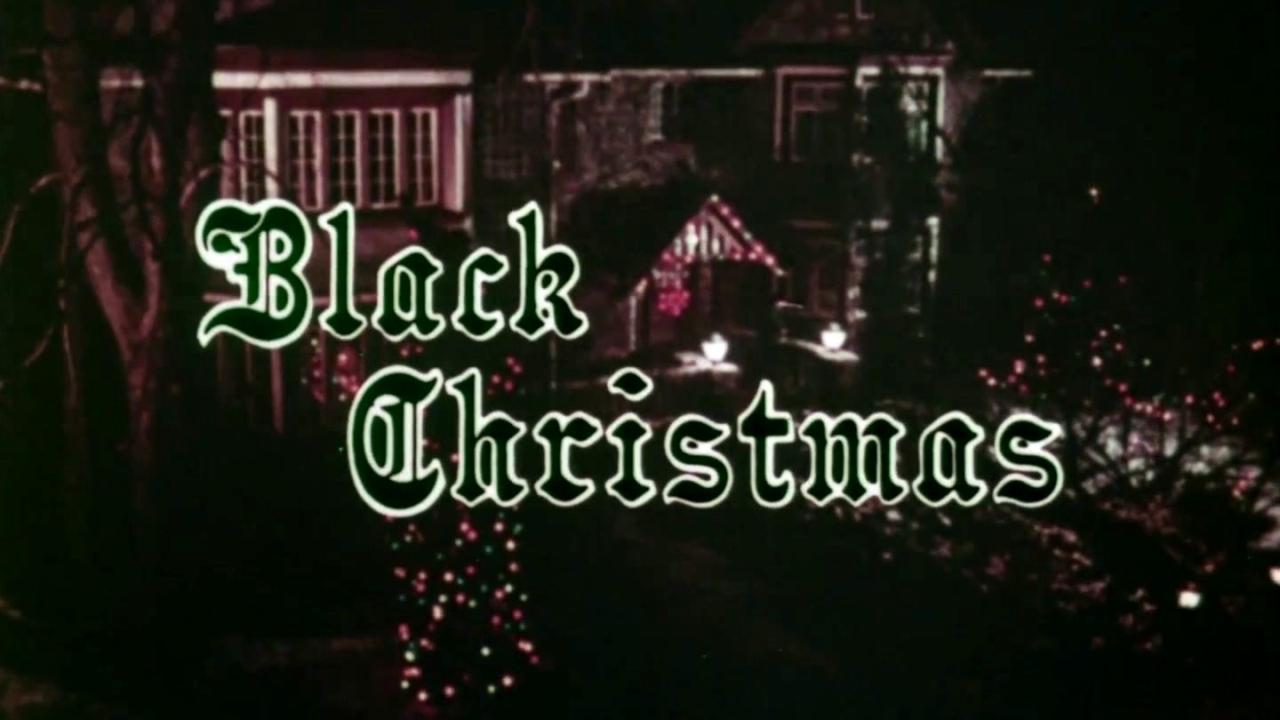 Black Christmas (TV Spot)