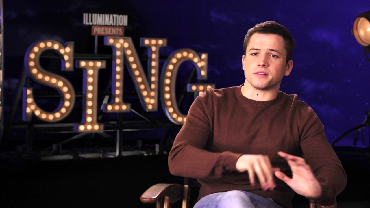 Sing: Taron Egerton On The Plot Of The Film