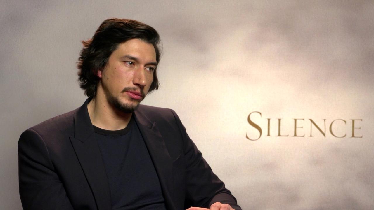 Silence: Adam Driver