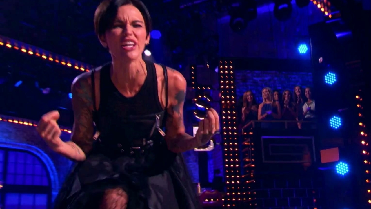 Lip Sync Battle: Ruby Rose Syncs Bitch By Meredith Brooks