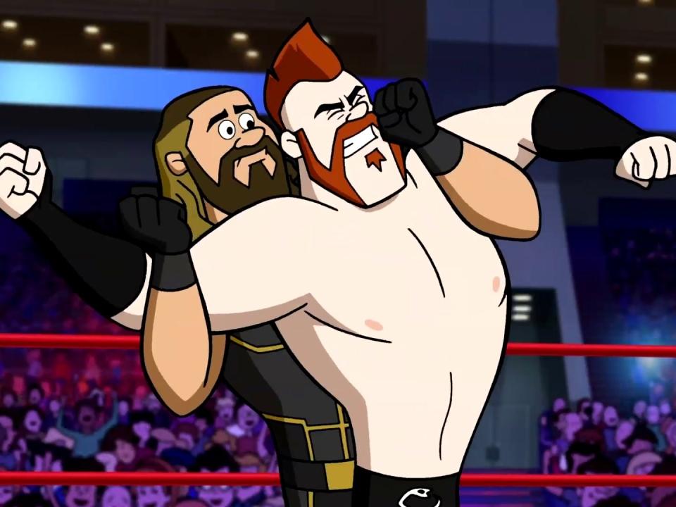 The Jetsons & WWE: Robo-Wrestlemania! (DVD Trailer)