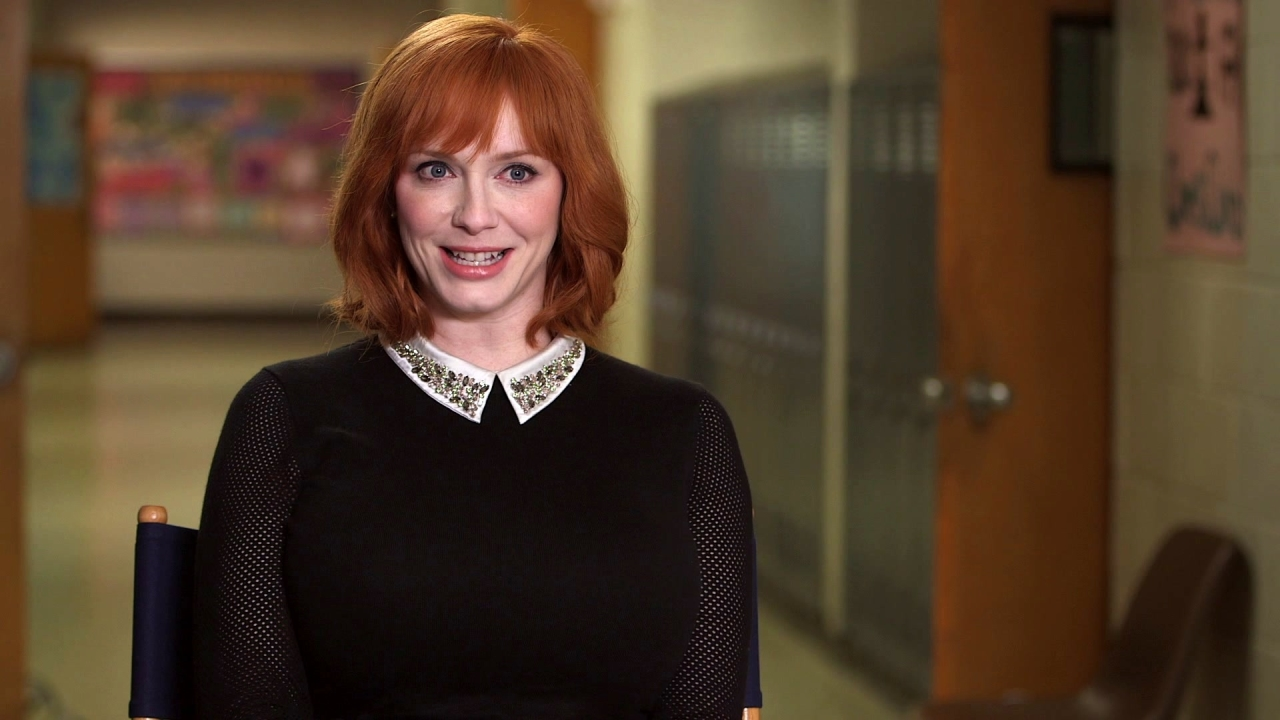Fist Fight: Christina Hendricks On How Crazy Ms. Monet Can Be