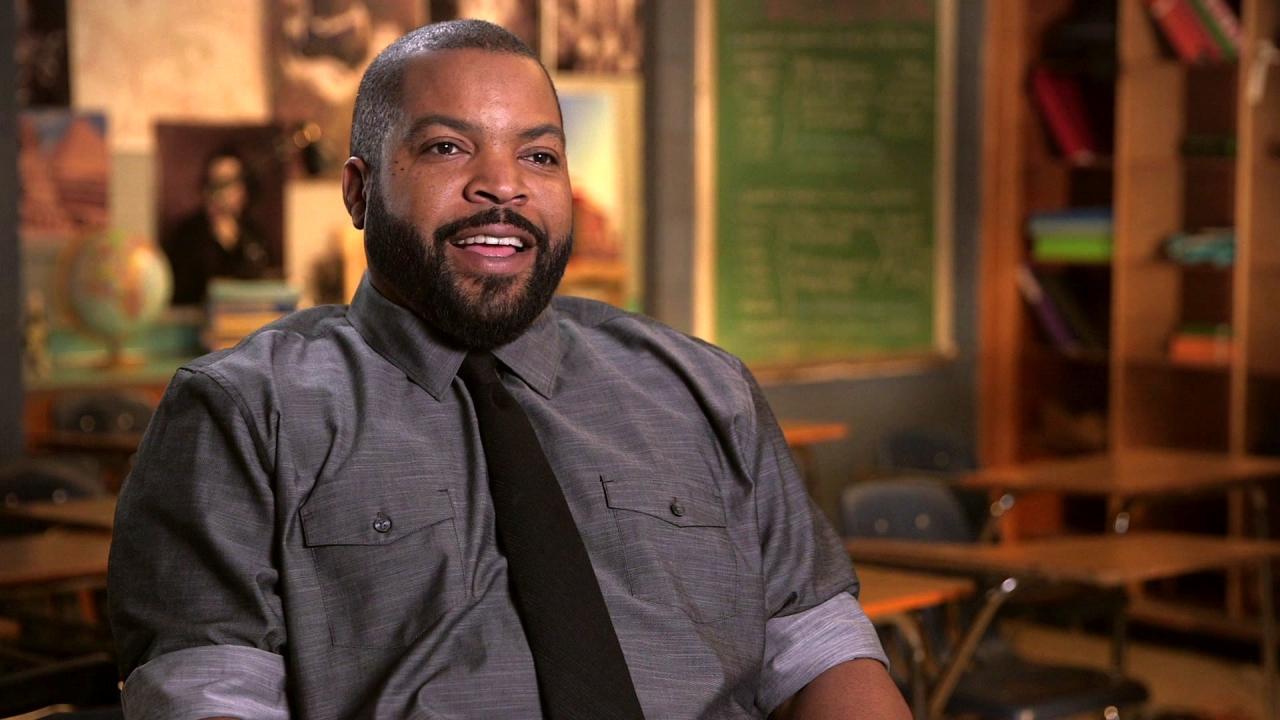 Fist Fight: Ice Cube On The Script