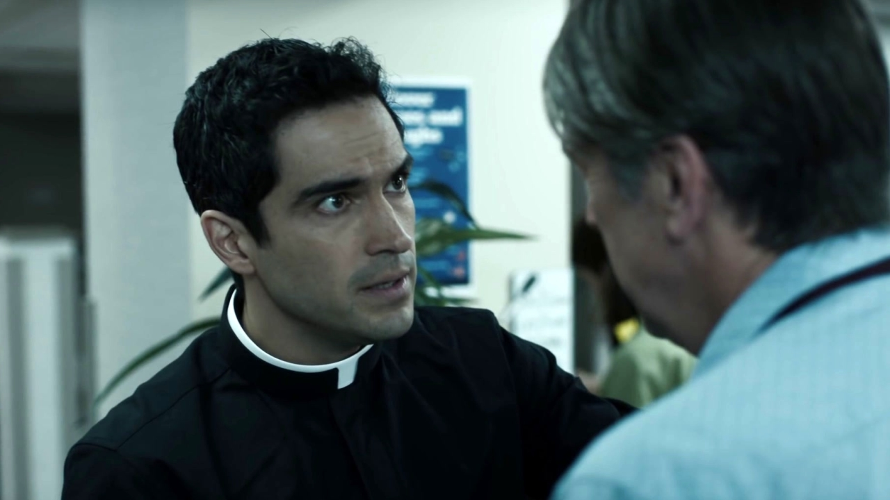 The Exorcist: Father Tomas Breaks Some Hard News To Angela