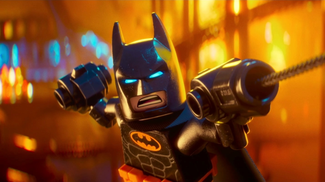The Lego Batman Movie: I Like To Fight Around