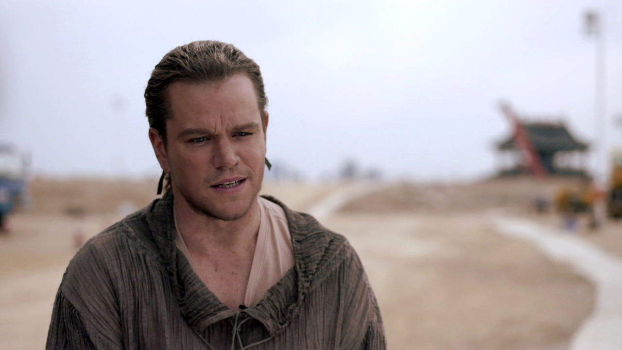 The Great Wall: Matt Damon On How The Western Characters Get Swept Up In The Story