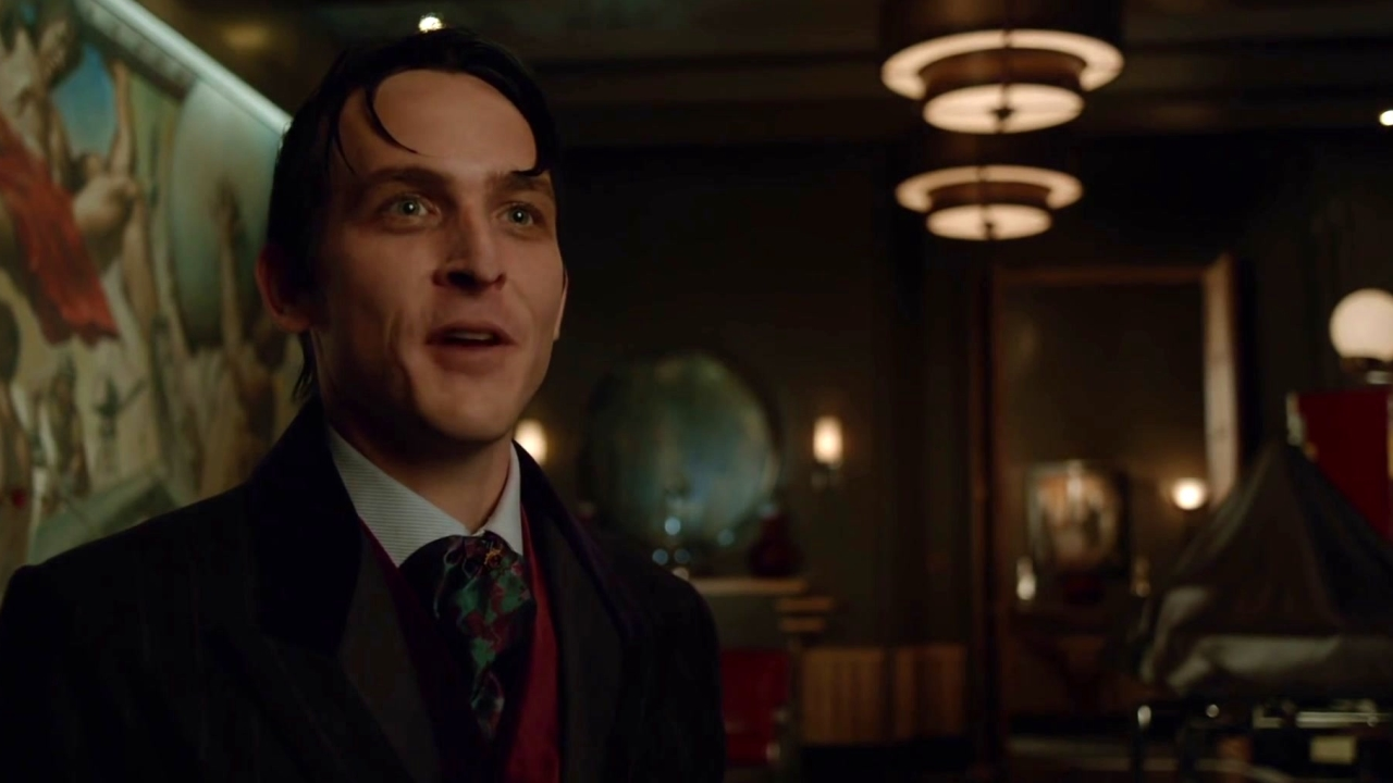 Gotham: Theo And Penguin Have A Discussion