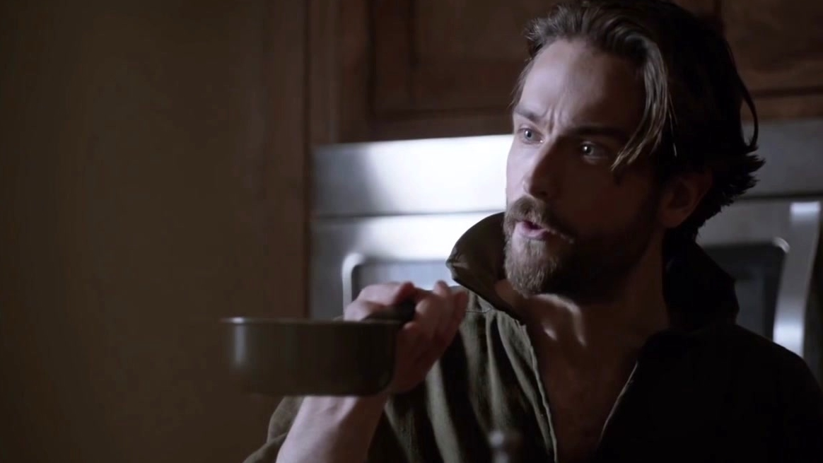 Sleepy Hollow: Ichabod Is Not Happy And Takes It Out On His Breakfast