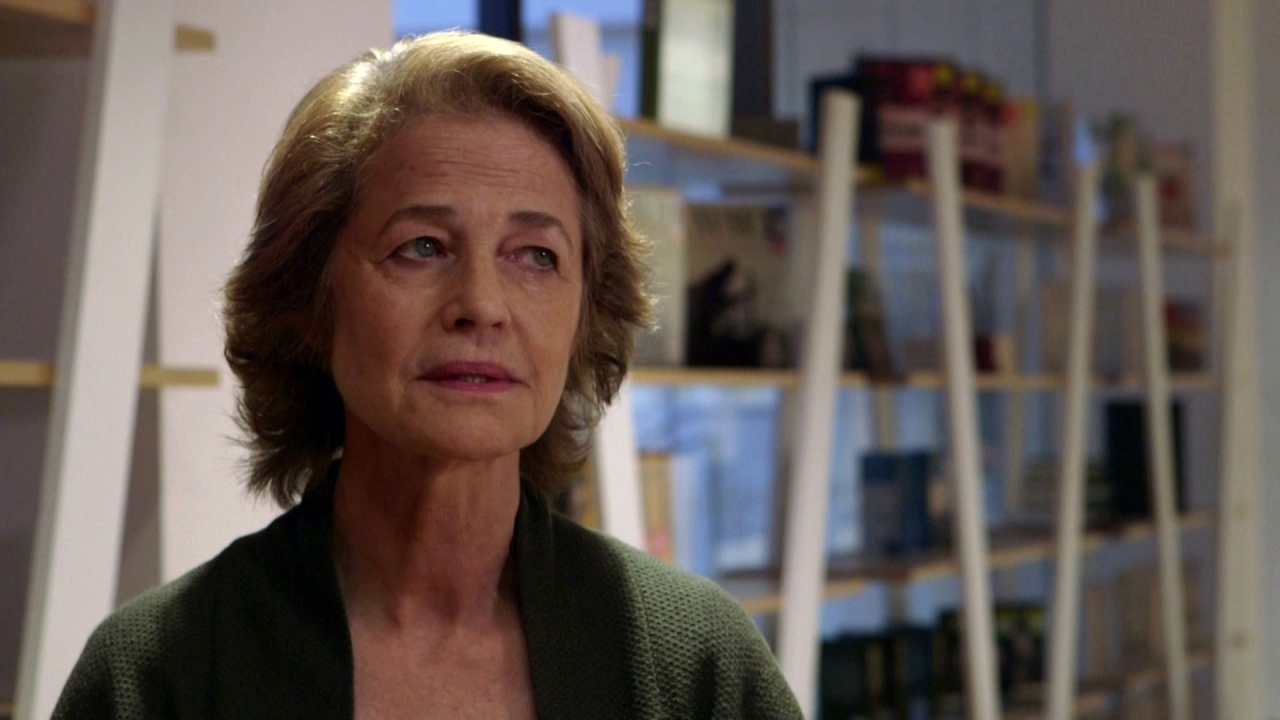 The Sense Of An Ending: Charlotte Rampling On Veronica Holding Onto The Letter From Tony