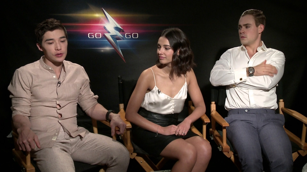 Power Rangers: Dacre Montgomery, Naomi Scott, And Ludi Lin On Growing Up With Power Rangers