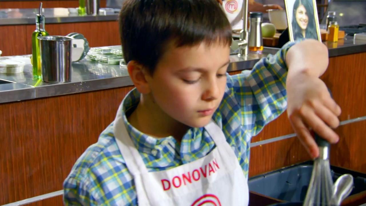 Masterchef Junior: Julie Bowen Is Extremely Impressed With Donovan