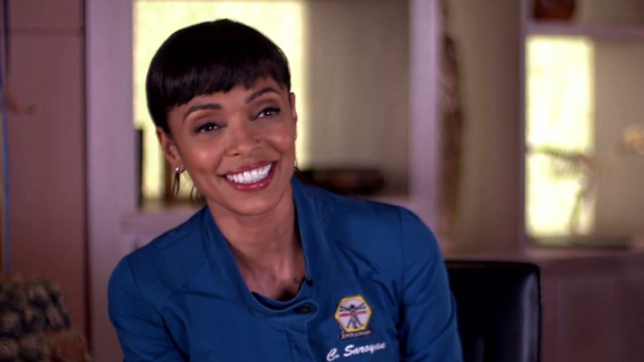 Bones: Tamara Taylor Shares A Sneak Peek Of Cam & Arastoo's Wedding
