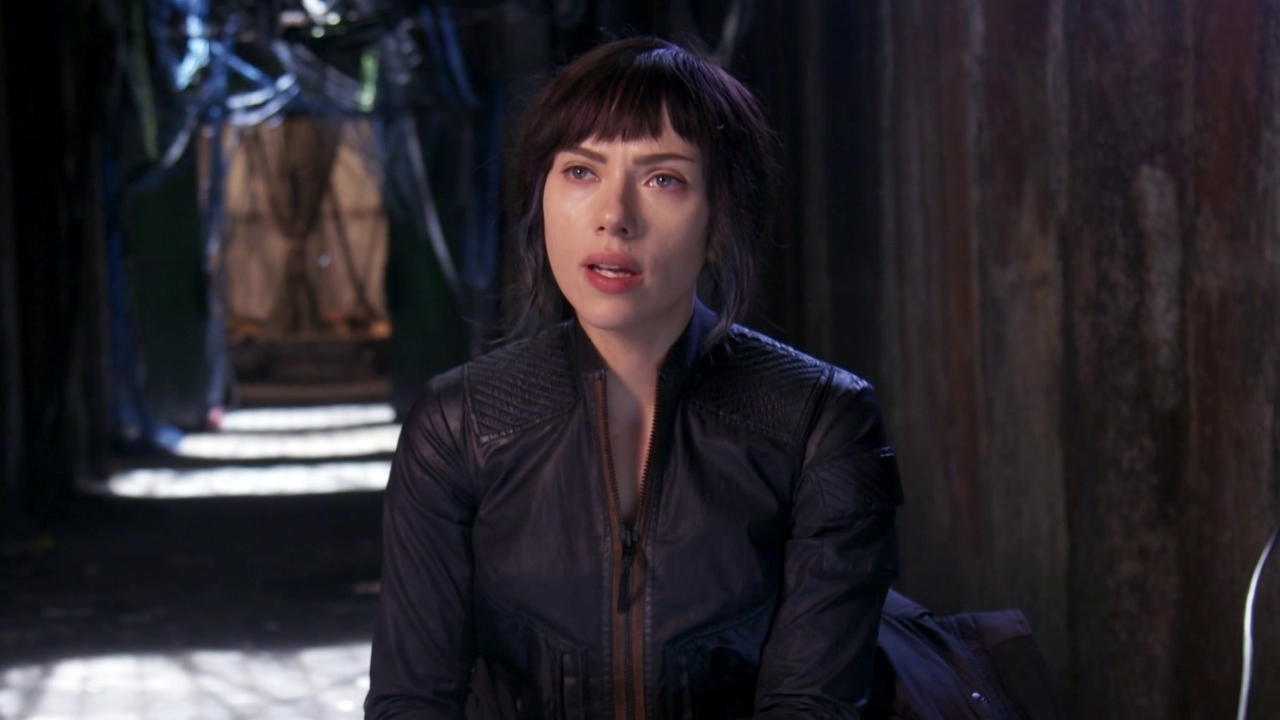 Ghost In The Shell: Scarlett Johansson on Major (International)