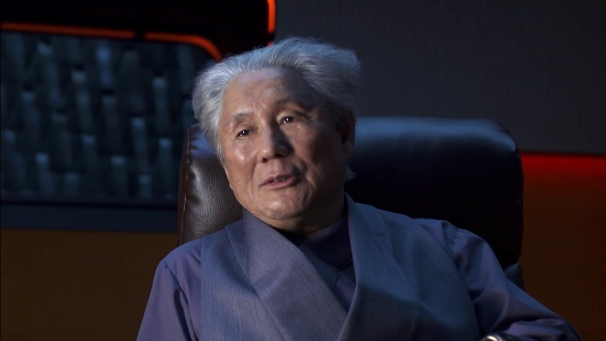 Ghost In The Shell: Takeshi Kitano on what the film says about humanity (International Subtitled)