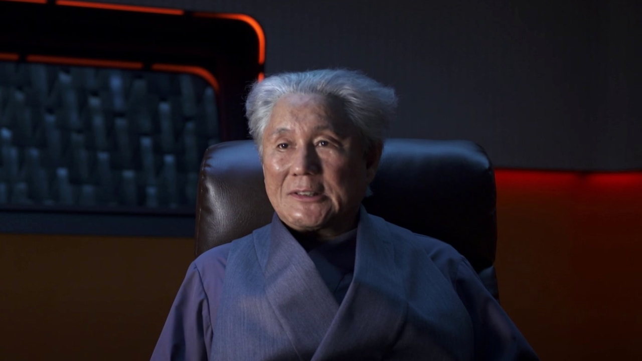 Ghost In The Shell: Takeshi Kitano about playing Aramaki (International Subtitled)