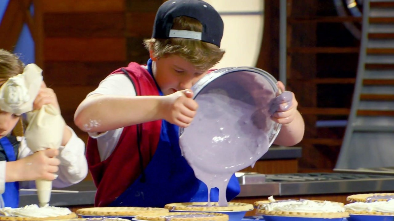 Masterchef Junior: A Race Against The Clock To Create The Best Pies Possible